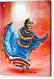 La Bailarina Del Sol Acrylic Print by Heather Calderon