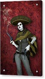 La Bandida Muerta Acrylic Print