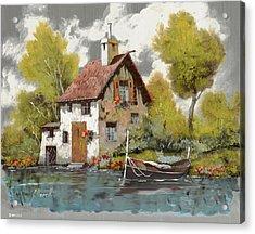 La Barca Acrylic Print