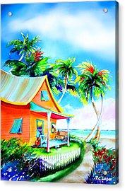 La Casa Cayo Hueso Acrylic Print