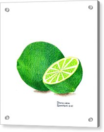 La Chaux Acrylic Print by Sharon Blanchard