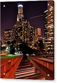 La City Lights Acrylic Print