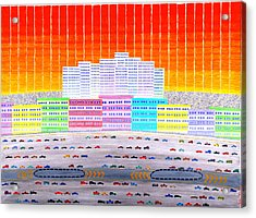L.a. Cityscape Acrylic Print