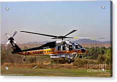 La County Fire Air Support Acrylic Print
