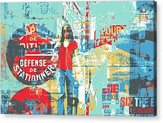 La Defense Acrylic Print by Shay Culligan