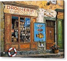 La Drogheria Acrylic Print