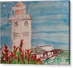 La Farmer's Market Acrylic Print