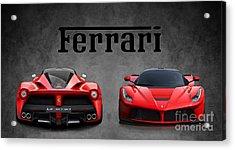 La Ferrari. Acrylic Print