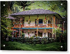 La Finca De Cafe - The Coffee Farm Acrylic Print