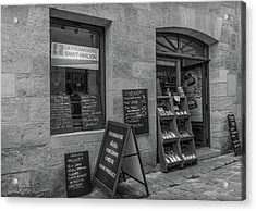 La Fromagerie - The French Cheese Shop Acrylic Print