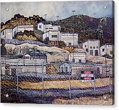 La Frontera Acrylic Print by Candy Mayer