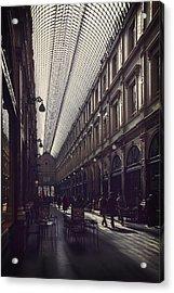 Les Galeries Brussels Acrylic Print by Carol Japp