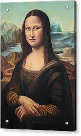 La Gioconda - Pastel  Acrylic Print