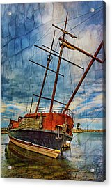 La Grande Hermine 2 - Overlay Acrylic Print by Steve Harrington