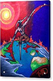 la Grande Reaper Acrylic Print