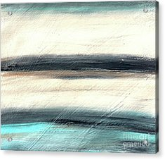 La Jolla #1 Seascape Landscape Original Fine Art Acrylic On Canvas Acrylic Print
