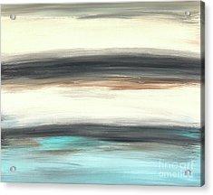 La Jolla #2 Seascape Landscape Original Fine Art Acrylic On Canvas Acrylic Print