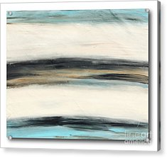 La Jolla #3 Seascape Landscape Original Fine Art Acrylic On Canvas Acrylic Print