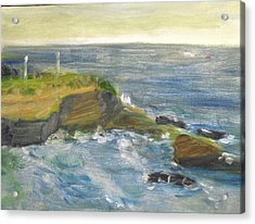 La Jolla Cove 002 Acrylic Print by Jeremy McKay