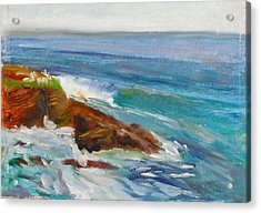 La Jolla Cove 008 Acrylic Print by Jeremy McKay