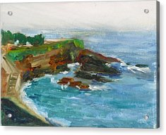La Jolla Cove 012 Acrylic Print by Jeremy McKay