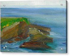 La Jolla Cove 016 Acrylic Print by Jeremy McKay