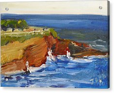 La Jolla Cove 017 Acrylic Print by Jeremy McKay