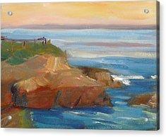 La Jolla Cove 018 Acrylic Print by Jeremy McKay