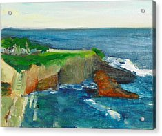La Jolla Cove 021 Acrylic Print by Jeremy McKay