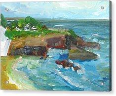 La Jolla Cove 022 Acrylic Print by Jeremy McKay