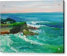 La Jolla Cove 032 Acrylic Print by Jeremy McKay