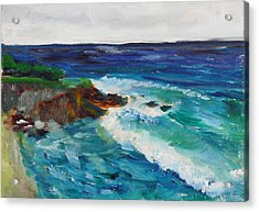 La Jolla Cove 043 Acrylic Print