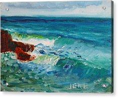 La Jolla Cove 046 Acrylic Print
