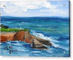 La Jolla Cove 059 Acrylic Print