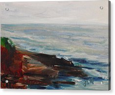 La Jolla Cove 070 Acrylic Print by Jeremy McKay