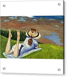 La Jolla Acrylic Print by Karyn Robinson