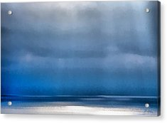 La Jolla Sunrays On The Ocean Acrylic Print