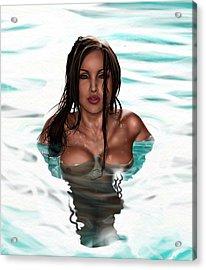 La Llorona Acrylic Print by Pete Tapang