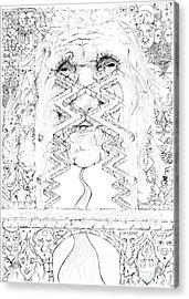 La Llorona Sombra De Arreguin Acrylic Print