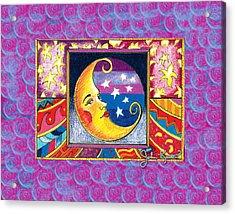 La Luna 1 Acrylic Print by John Keaton