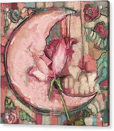 La Luna Rosa Acrylic Print