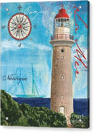 La Mer Acrylic Print by Debbie DeWitt