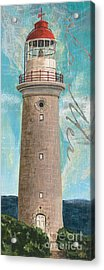 La Mer Lighthouse Acrylic Print by Debbie DeWitt