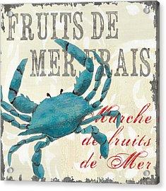 La Mer Shellfish 1 Acrylic Print