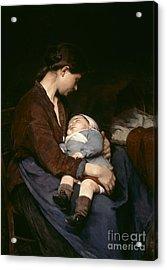 La Mere Acrylic Print by Elizabeth Nourse