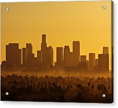 L. A. Morning Acrylic Print by Ron Dubin