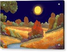 La Musica Della Notte Acrylic Print