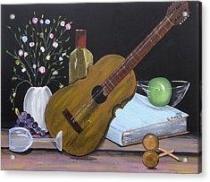 La Musica Por Dentro Acrylic Print