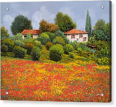 La Nuova Estate Acrylic Print by Guido Borelli