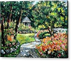 La Paloma Gardens Acrylic Print